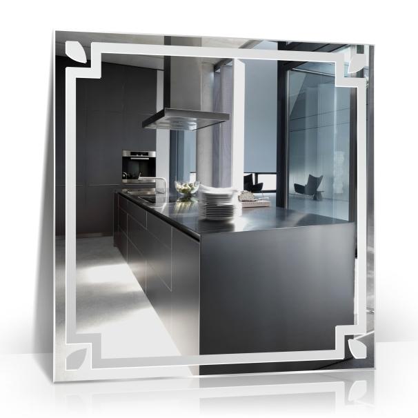 Moderner wandspiegel badezimmerspiegel bad spiegel ebay for Badezimmerspiegel modern